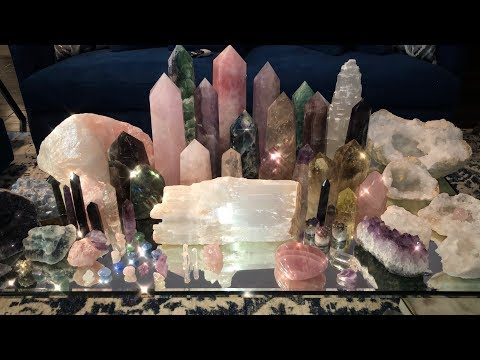 My Crystal Collection + CRYSTAL GIVEAWAY