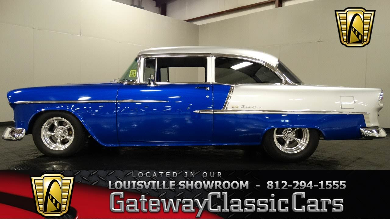 1955 Chevrolet Bel Air Louisville Showroom Stock 896 Youtube Chevy