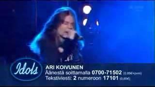 ari koivunen here i go again by whitesnake finnish idols 2007 winner