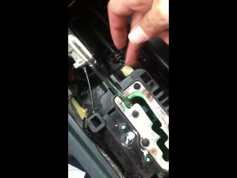 How To Fix 300c 300 Charger Shifter Stuck On Park Youtube
