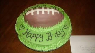 My husbands Birthday Cake