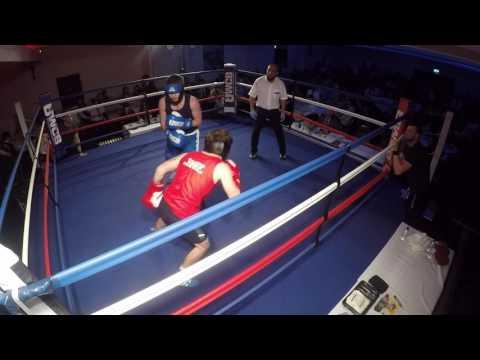 Ultra White Collar Boxing | Corby | Kieran Huxtable VS Scott Simpson