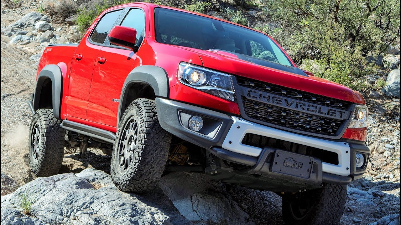 2019 Chevrolet Colorado ZR2 Bison - Off-Road Drive - YouTube
