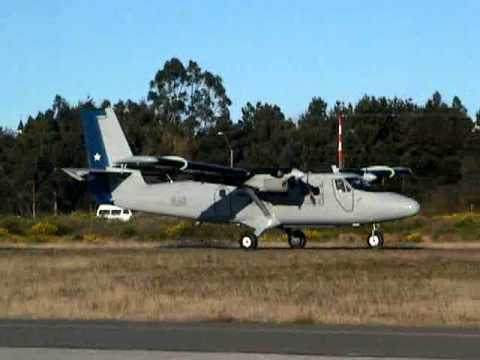 Twin Otter's extreme short take off