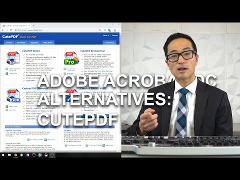 Adobe Acrobat Alternatives: CutePDF