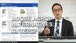 Adobe Acrobat Alternatives: CutePDF