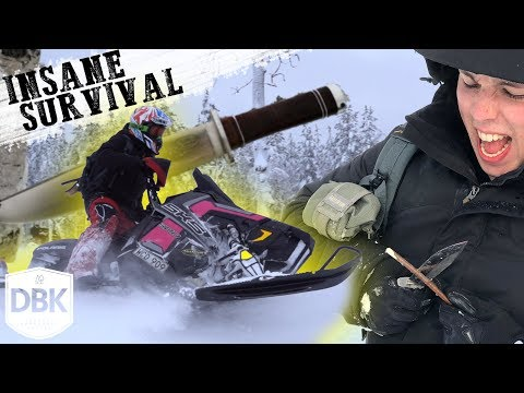 INSANE Survival Trip! Best Sweden Experience EVER!   Meeting Fällkniven