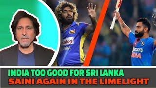 India too good for Sri Lanka | Saini again in the limelight