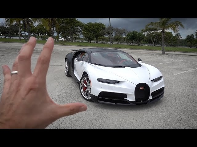 BUYING A NEW CAR: BUGATTI CHIRON!!!