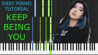 Video Isyana Sarasvati - Keep Being You - EASY PIANO TUTORIAL STEP BY STEP [ VERSE ] download MP3, 3GP, MP4, WEBM, AVI, FLV November 2018