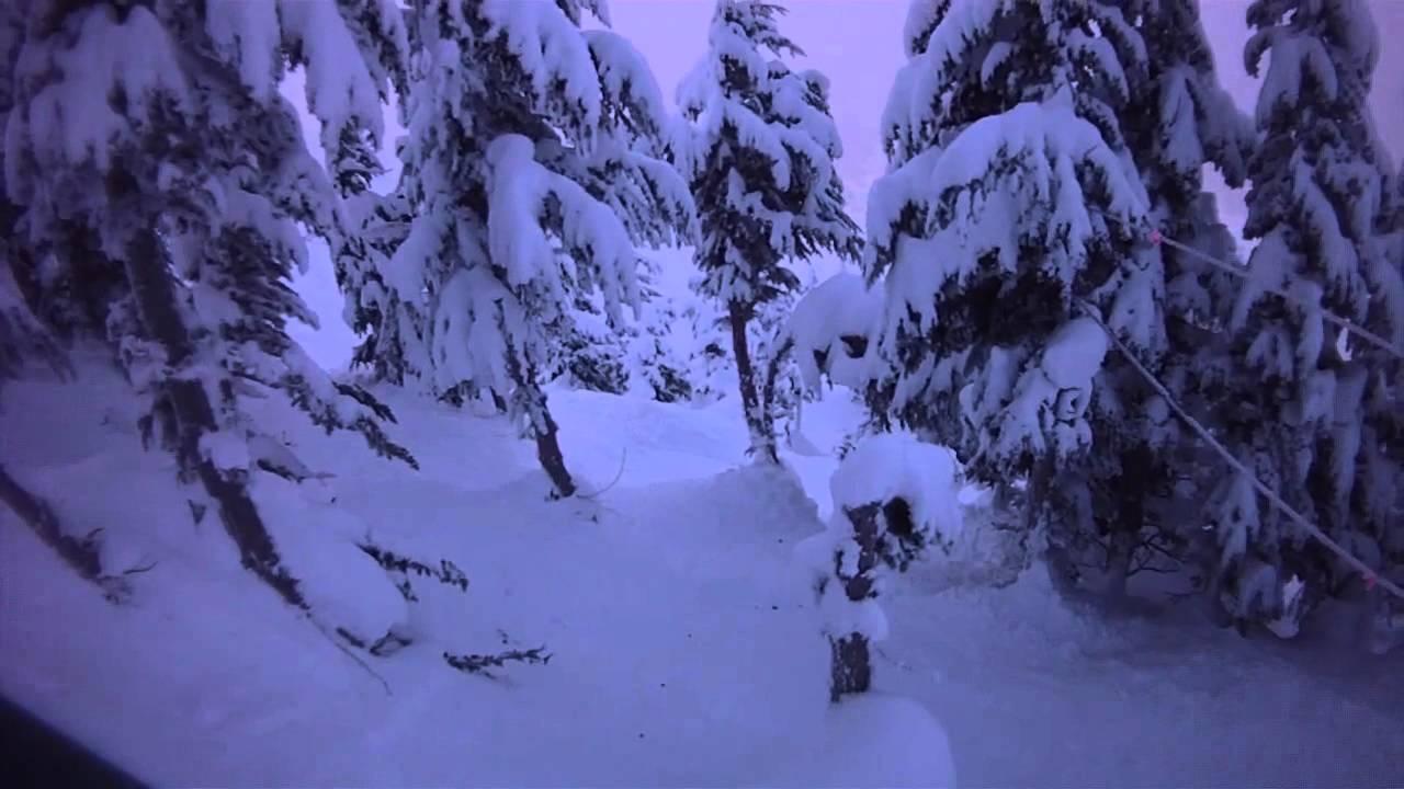 Christmas Chute, Mount Alyeska, Alaska