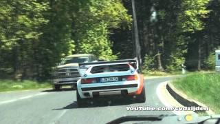 Chasing BMW M1 Procar on the road @ Nurburgring