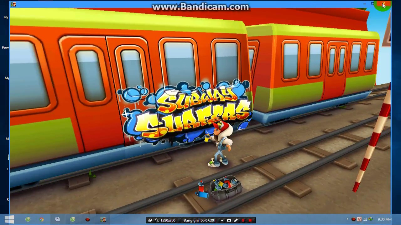 Hướng dẫn tải game Subway Surfers cho Pc