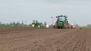 Uprawa i siew kukurydzy 2016 - John Deere 6330P & Maxima 2TS JD6930P JD5720 *Podkarpacie*