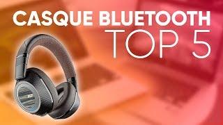 TOP5 : MEILLEUR CASQUE BLUETOOTH (2018)