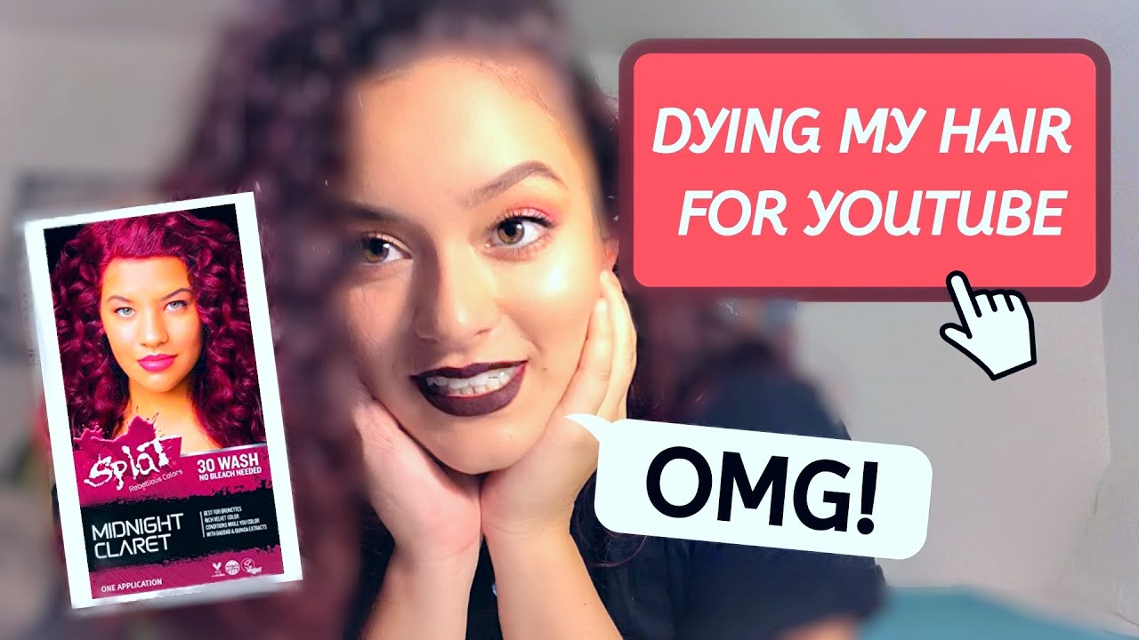 Dying My Hair For The First Time Rip Confidence Is Being Uncomfortable Youtube