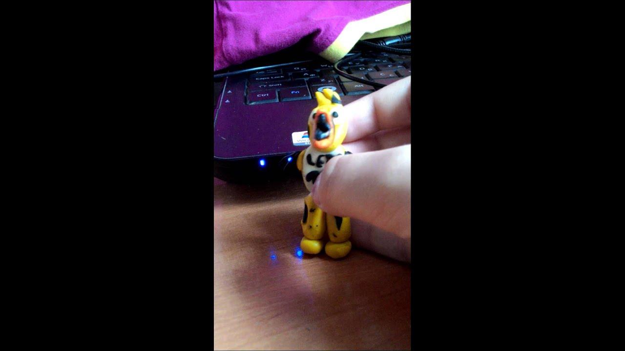 Игрушки 5 ночей с фредди и пластилина - YouTube
