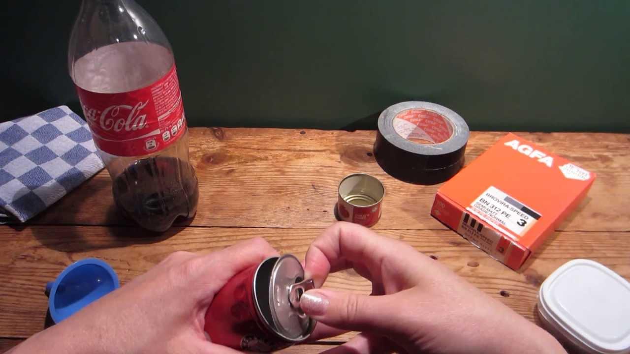 Hoe maak je een camera van een blikje korte versie youtube - Hoe je een eigentijdse inrichting van ...