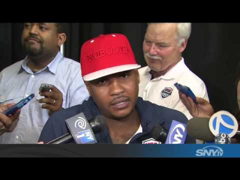 Carmelo Anthony and Kevin Durant talk Knicks and Team USA
