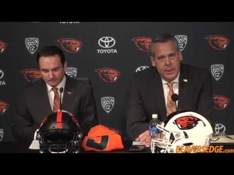 Jonathan Smith introduced as Oregon State's football coach