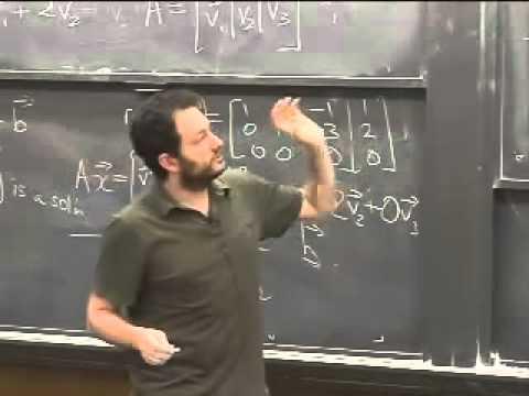 Lec 03 - Linear Algebra | Princeton University