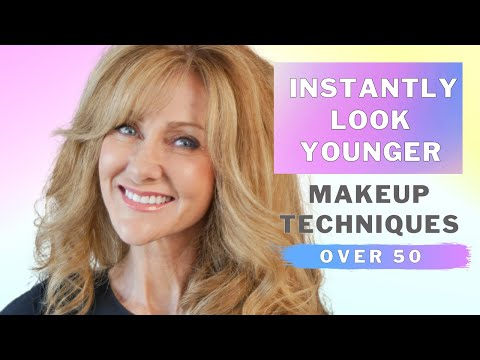 Look 10 Years Younger |  Makeup For Women Over 50!