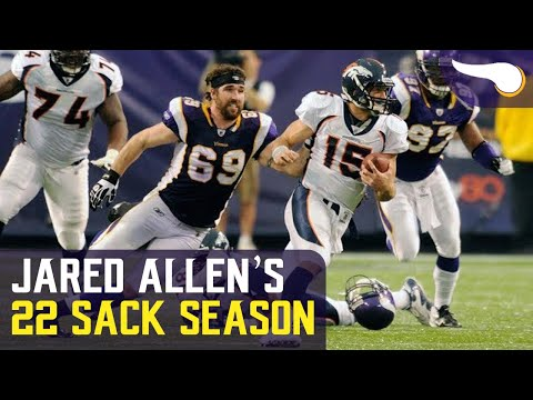 Jared Allen's 22 Sack Season (2011)