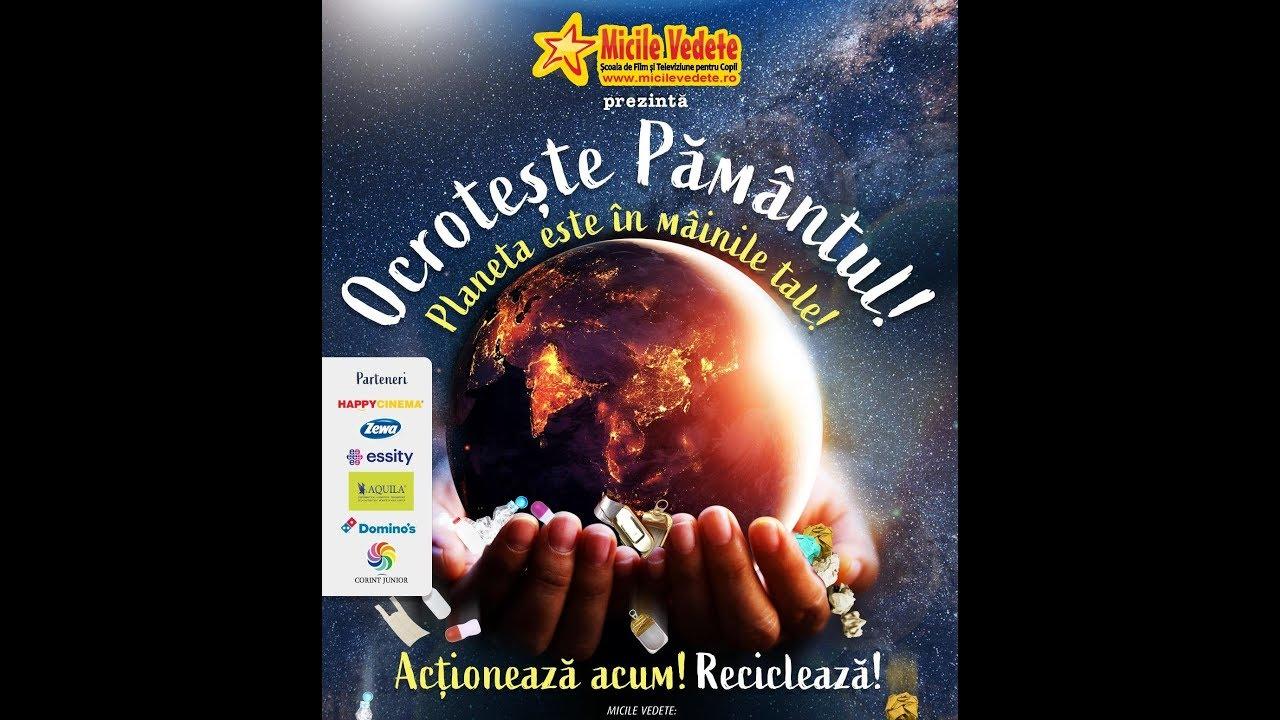 OCROTESTE PAMANTUL! Planeta este in mainile tale! - film documentar pentru copii