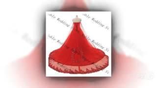 Коллекция 2015 года - свадебное платье с повязкой верхней части  vestido де noiva