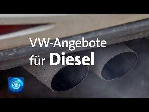 Diesel: VW ködert mit Prämie für Verschrottung