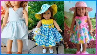 Vestidos para muñecas fácil de confeccionar