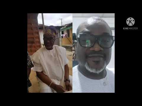 Download Chief Rasak Jikoji,  had gone to court over the matter of chieftaincy of Badore, be4 dem kwaii am