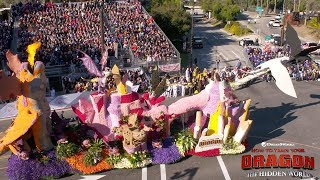 How to Train Your Dragon: The Hidden World - Rose Bowl Parade Float