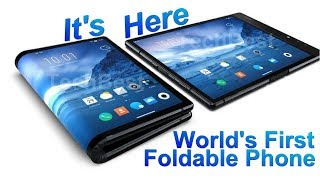 Worlds First Bendable Smartphone is Finally Here. (Flexible Display)