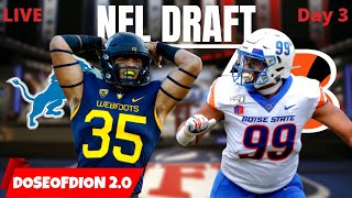 NFL Draft LIVE Reaction! Day 3 (Rounds 4-7)