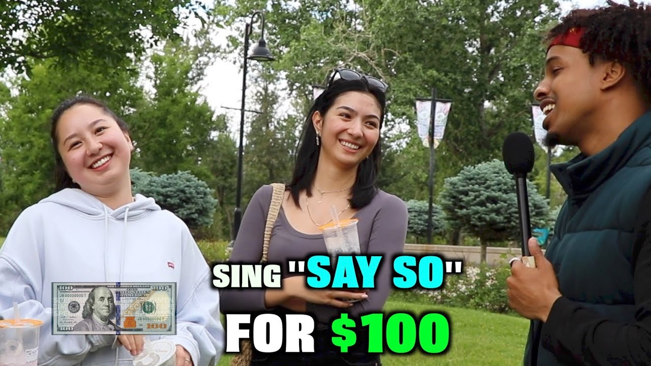 "Sing ""SAY SO"" By Doja Cat and Win $100!!!"