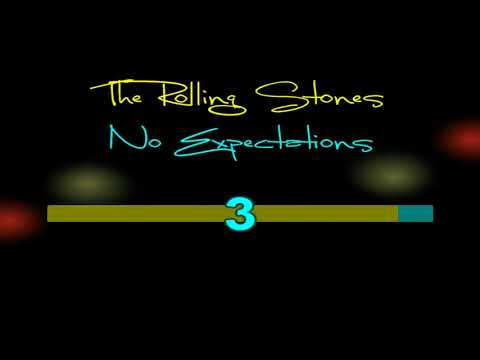 The Rolling Stones   No Expectations - Karaokê