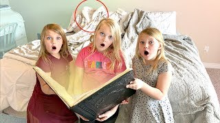 Did our Parents DISAPPEAR?! Magic Spell Book