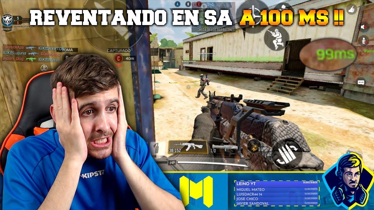 REVENTANDO EN SA A 100 MS !! COD MOBILE