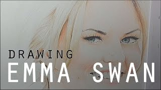 Pencil Drawing | Desenhando | Emma Swan Jennifer Morrison (Once Upon a Time)