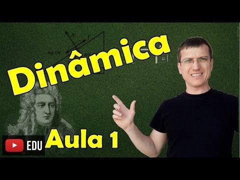 DINÂMICA - CONCEITOS FUNDAMENTAIS -  AULA 1 - Prof. Marcelo Boaro