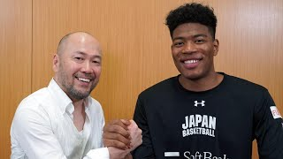 井上雄彦氏×八村選手対談 日米の差は「思いの強さ」