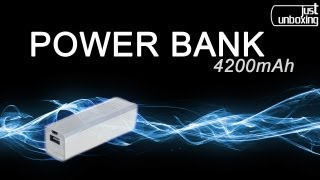Power Bank Batería auxiliar para tu smartphone o tablet