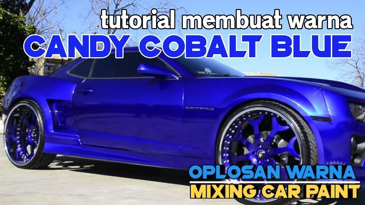 TUTORIAL oplos warna CANDY COBALT BLUE YouTube