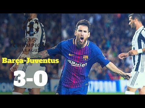 Champions League: FC Barcelona-Juventus, 3-0