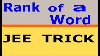 magical tricks of permutation and combination