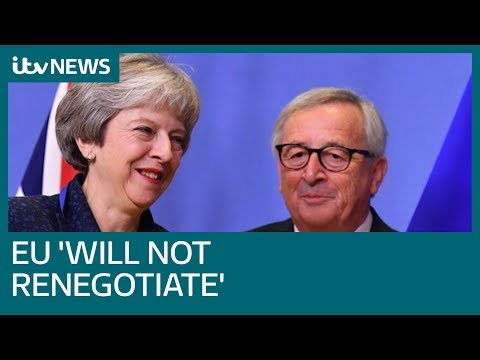 'No room whatsoever' for Brexit renegotiations | ITV News