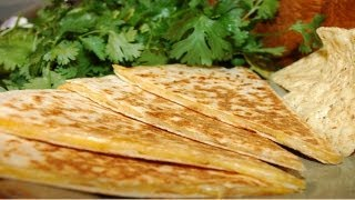 Lunch Box Ideas And Tips : Cheese Quesadilla Recipe With Many Options