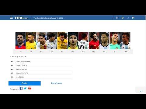 CREANDO NUESTRO FIFA FIFPro World11 2017 EN VIVO CON USTEDES CRACKS