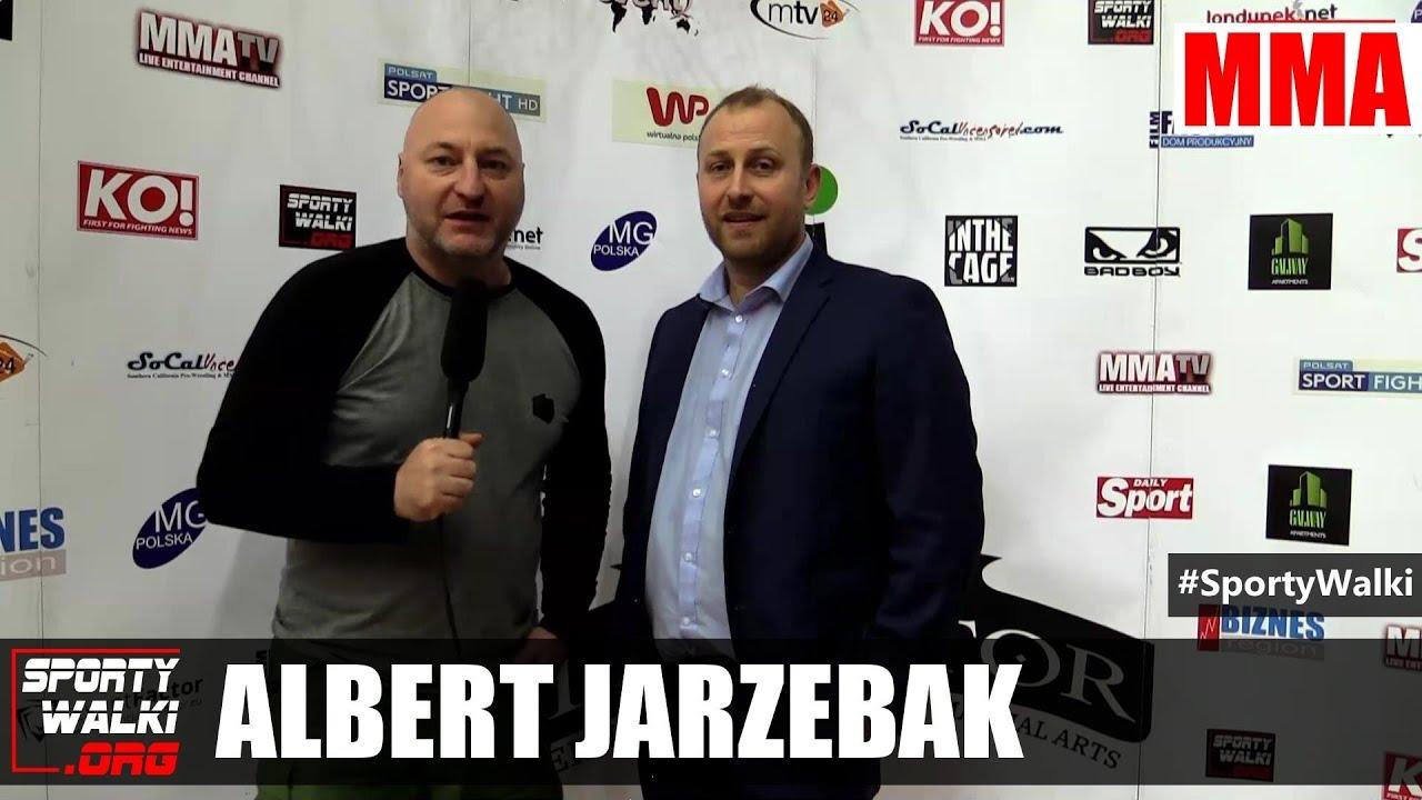 CG 15: Albert Jarzębak po gali w Nowym Sączu